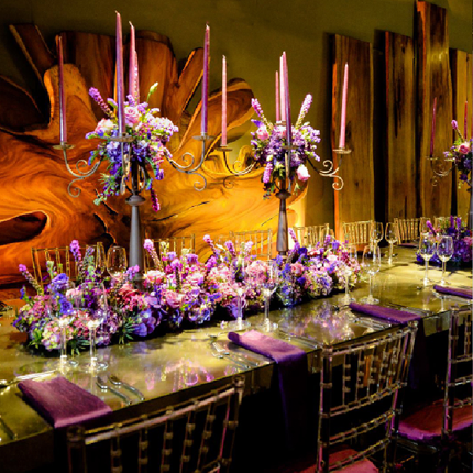 Gallery of Amazing Things Mitzvah Table Setting